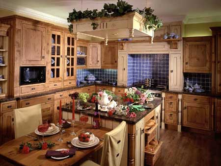 Kitchens design new kitchens plus for Country themed kitchen ideas